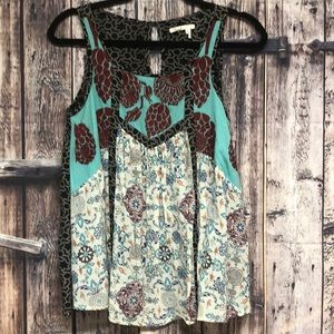 Floreat by Anthropology sz 2 sleeveless top